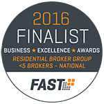 Business Excellence Awards 2016 Finalist
